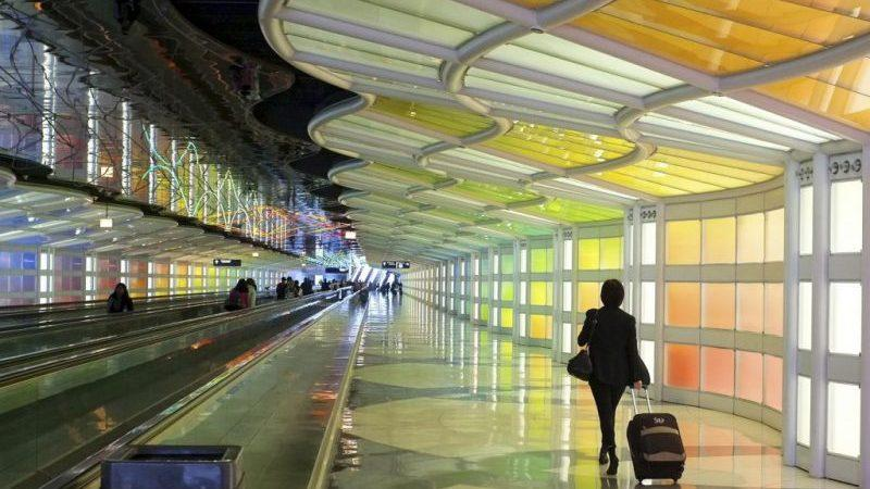 крупнейший аэропорт США
