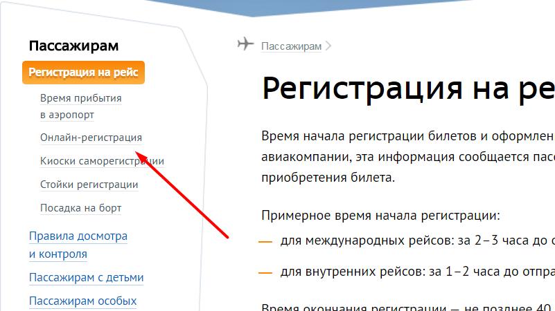 онлайн регистрация на рейс Пулково по номеру билета через интернет