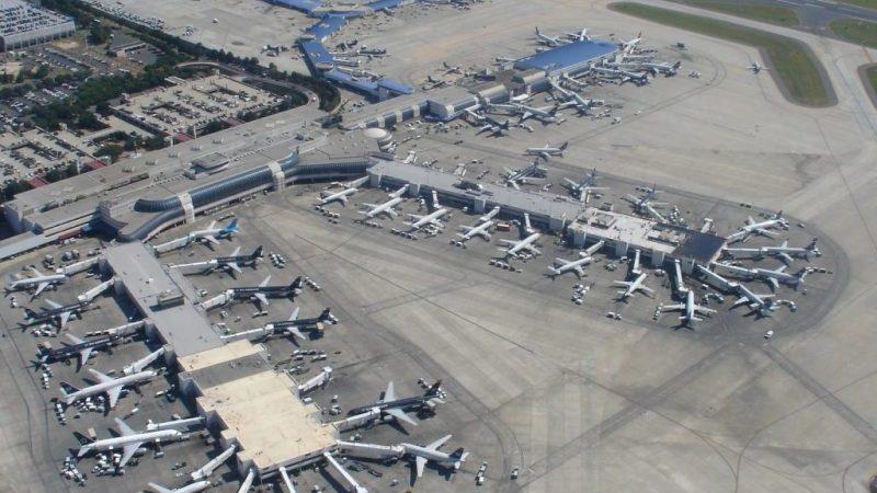 аэропорты США на карте2