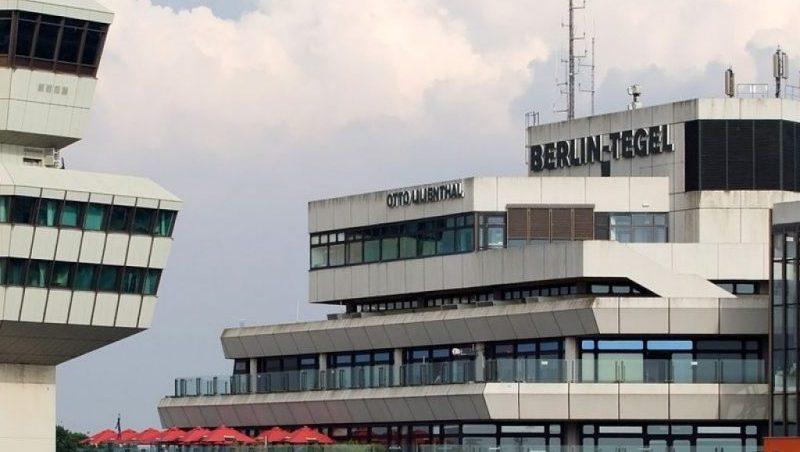 международные аэропорты Германии на карте