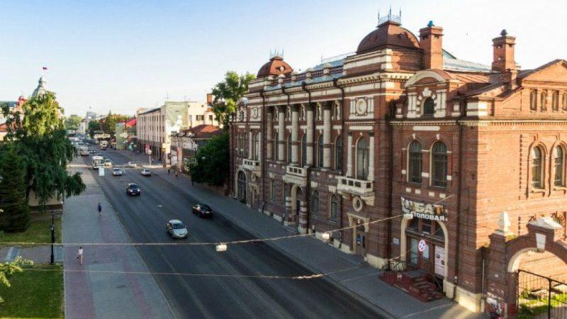 расстояние от Москвы до Томска