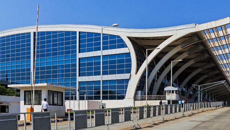 аэропорт Даболим на карте Гоа