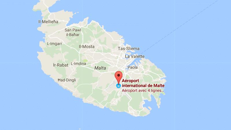 название аэропорта Мальты