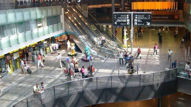 схема аэропорта Цюриха на русском языке
