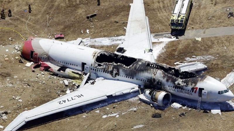 видео аварийных посадок пассажирских самолетов