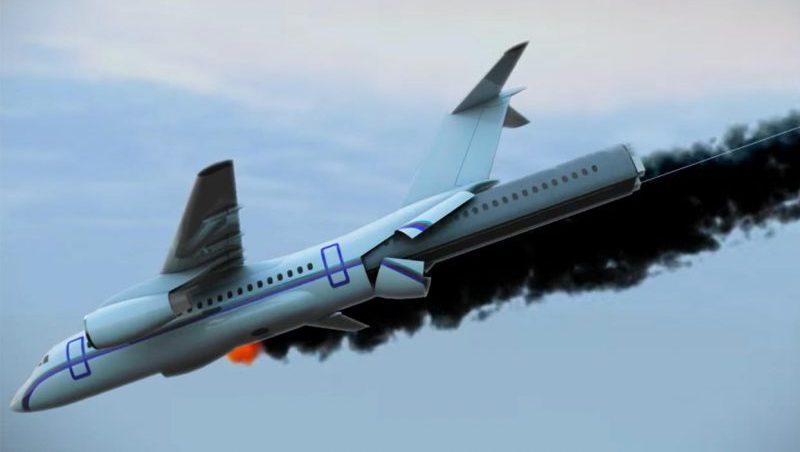 что делать при падении самолета