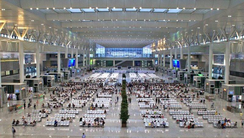аэропорт прилета на острове Хайнань (Китай)