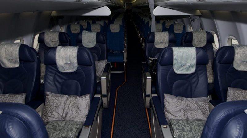 Самолет Сухой Суперджет 100 (Sukhoi Superjet) : показатели безопасности, схема салона и лучшие места