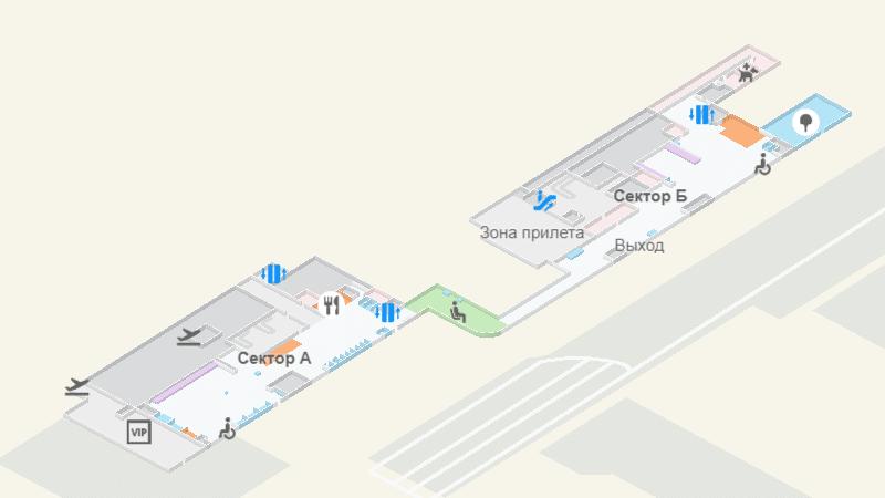 Международный аэропорт Новосибирска Толмачево