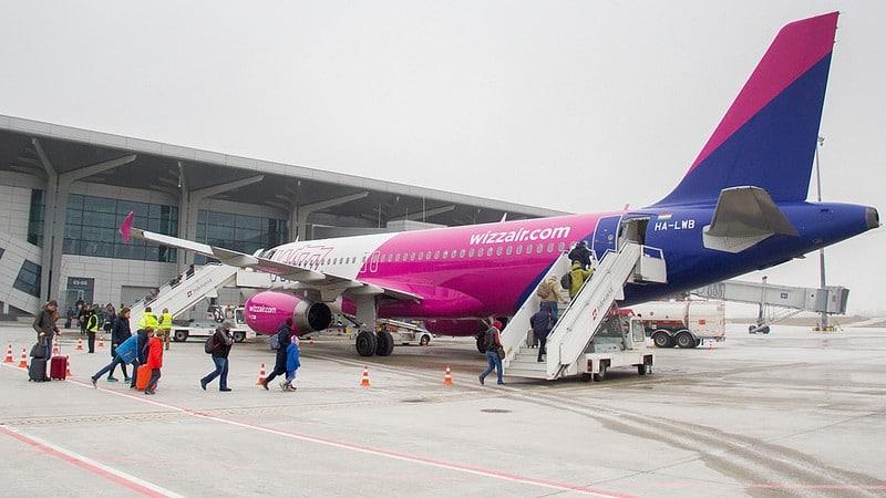 """Венгерская авиакомпания """"Wizz air"""" с дешевыми билетами и широким выбором направлений перелетов"""