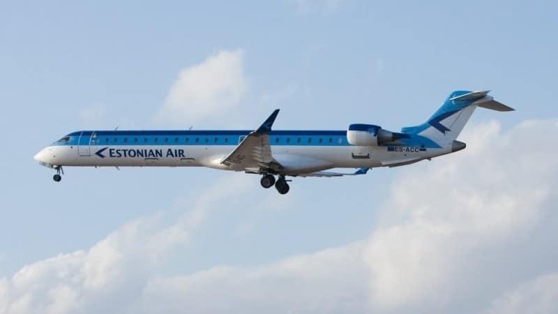 """Эстонская авиакомпания """"Estonian Air"""" для бюджетных и комфортных перелетов"""