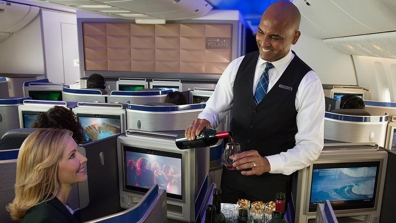 """Американская авиакомпания """"United Airlines"""" (Юнайтед Эйрлайнс)"""