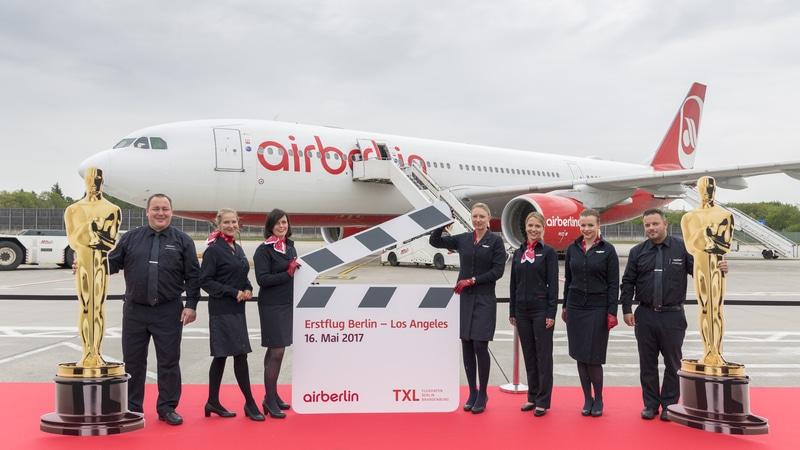 Немецкая национальная авиакомпания Air Berlin