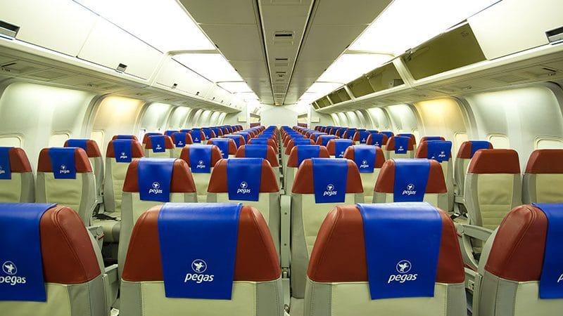 """Российская авиакомпания """"Pegas fly"""": направления, классы обслуживания и цены"""
