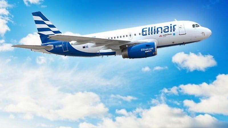 Греческая авиакомпания Эллинэйр (Ellinair)