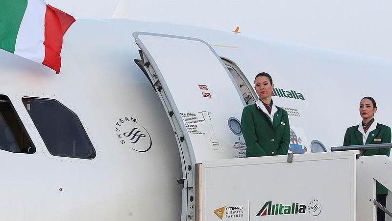 """Alitalia"" (Алиталия): авиакомпания Италии и её особенности"