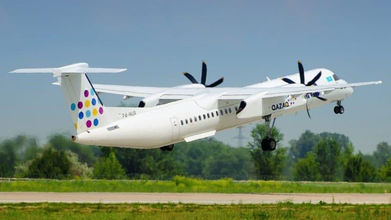 Казахстанская авиакомпания - лоукостер Казах Эйр (Qazaq Air)