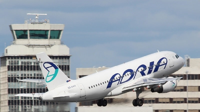 Словенская авиакомпания Adria Airways (Адрия Эйрвейз)