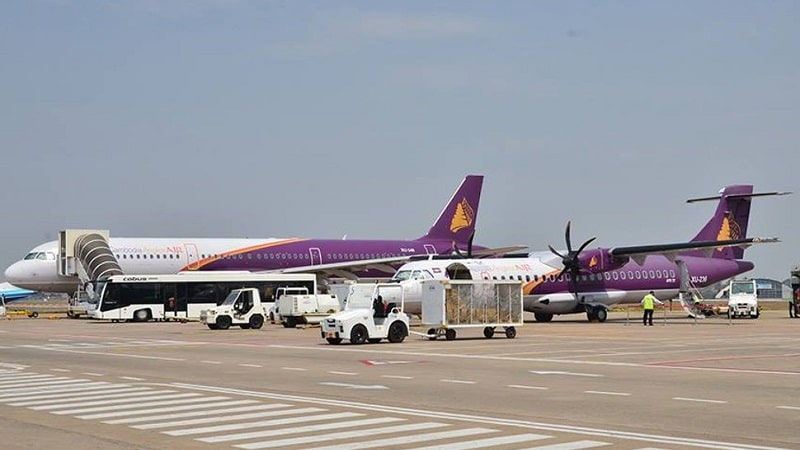 "Национальная авиакомпания Камбоджи ""Cambodia Angkor Air"""