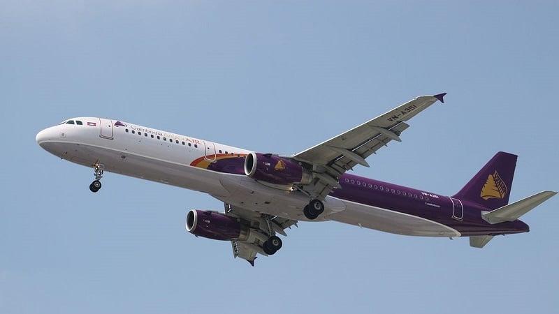 """Национальная авиакомпания Камбоджи """"Cambodia Angkor Air"""""""
