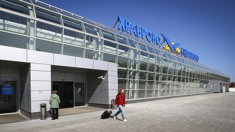Международный калининградский аэропорт Храброво