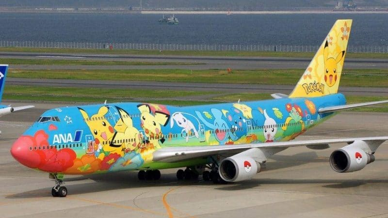 "Японская авиакомпания ""All Nippon Airways"" (ANA)"