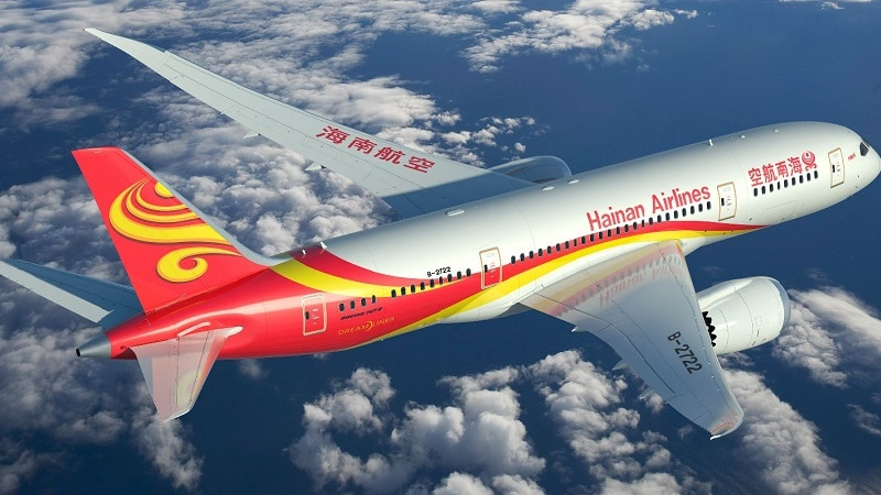 Китайская авиакомпания Hainan Airlines