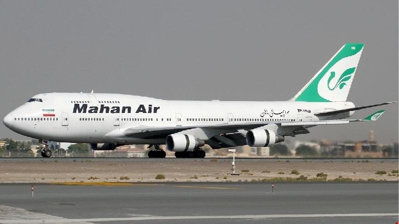 """Иранская авиакомпания """"Mahan Air"""" (Махан Эйр)"""