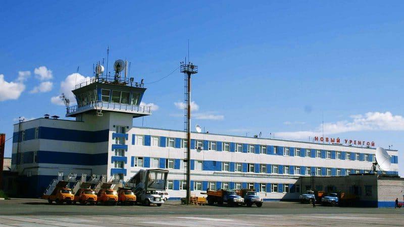 Международный аэропорт Новый Уренгой в Ямало-Ненецком автономном округе России