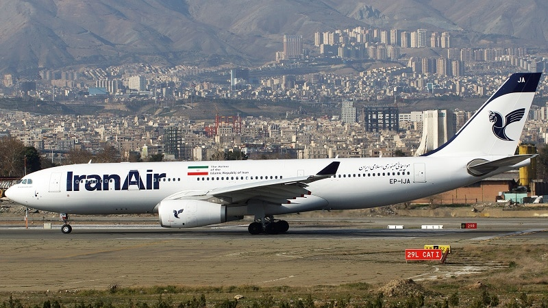 """Национальный авиаперевозчик Ирана, базирующийся в Тегеране - авиакомпания """"Iran Air"""""""