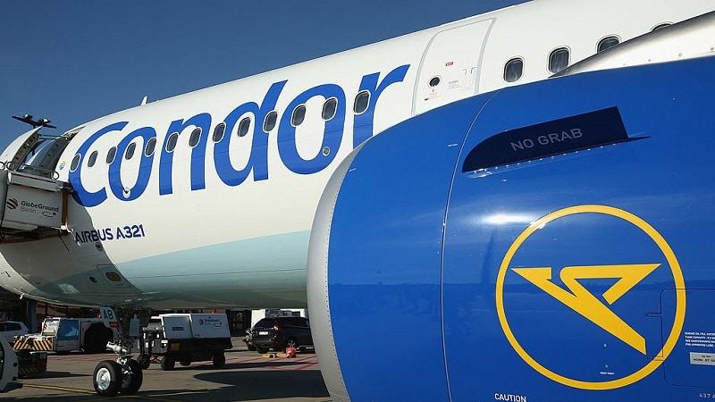 """Немецкая авиакомпания """"Condor Airlines"""""""