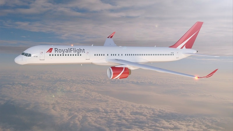 Парк самолетов авиакомпании Роял Флайт (Royal Flight)