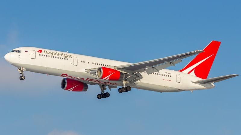Российская чартерная авиакомпания Роял Флайт (Royal Flight)