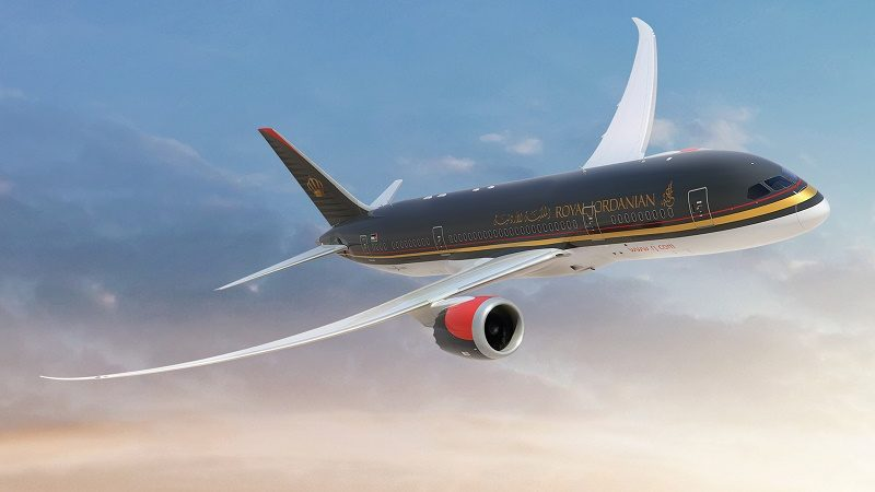 """Национальная авиакомпания Иордании """"Royal Jordanian Airlines"""""""