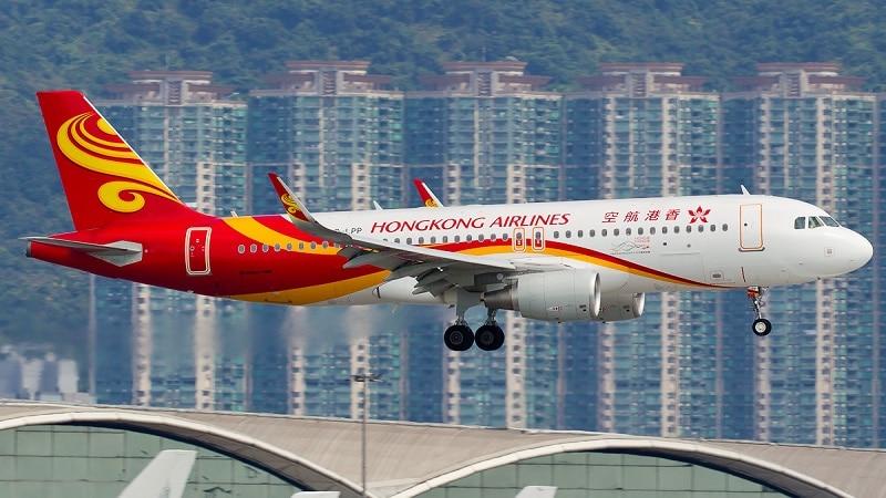 """Самая большая авиакомпания Гонконга """"Hong Kong Airlines"""""""