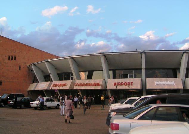 """Международный аэропорт в Гюмри (Армения), который называется """"Ширак"""""""