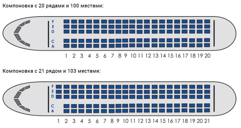 """Выбор лучших мест в салоне самолета авиакомпании """"Азимут"""""""