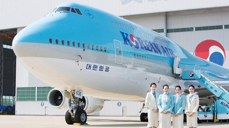 Крупнейшая национальная авиакомпании Южной Кореи Korean Air