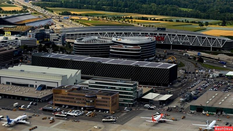 Международные аэропорты Германии - список и расположение на карте