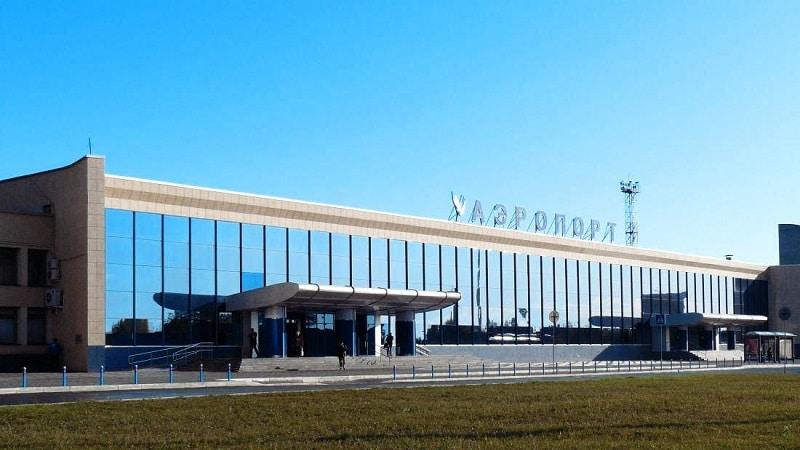 Международный аэропорт Баландино в городе Челябинск