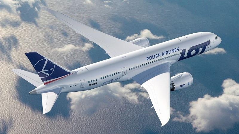 """Польская национальная авиакомпания """"Lot Polish Airlines"""""""
