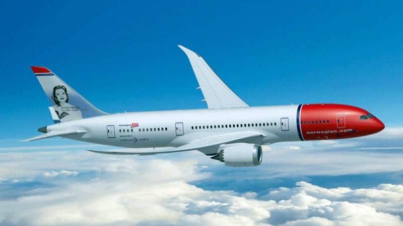 Авиакомпания Norwegian Air Shuttle (Norwegian Airlines, Норвежские Авиалинии)
