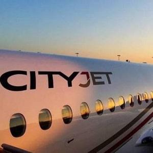 """Ирландская национальная авиакомпания """"CityJet"""" (Сити Джет)"""