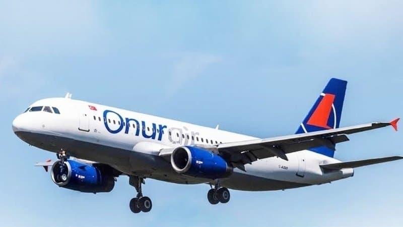 """Турецкая авиакомпания """"Onur Air"""" (Онур Эйр)"""