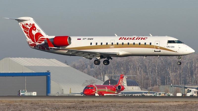 """Российская авиакомпания """"РусЛайн"""": самолеты, входящие в состав авиапарка"""
