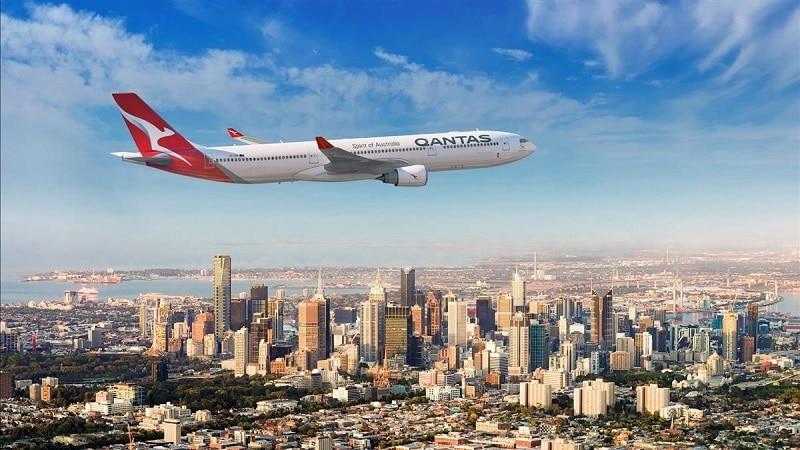 """Самая большая авиакомпания Австралии """"Qantas Airways"""""""