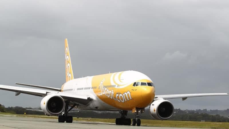 Бюджетная сингапурская авиакомпания Scoot Airlines