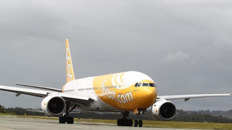 Бюджетная сингапурская авиакомпания Scoot Airlines