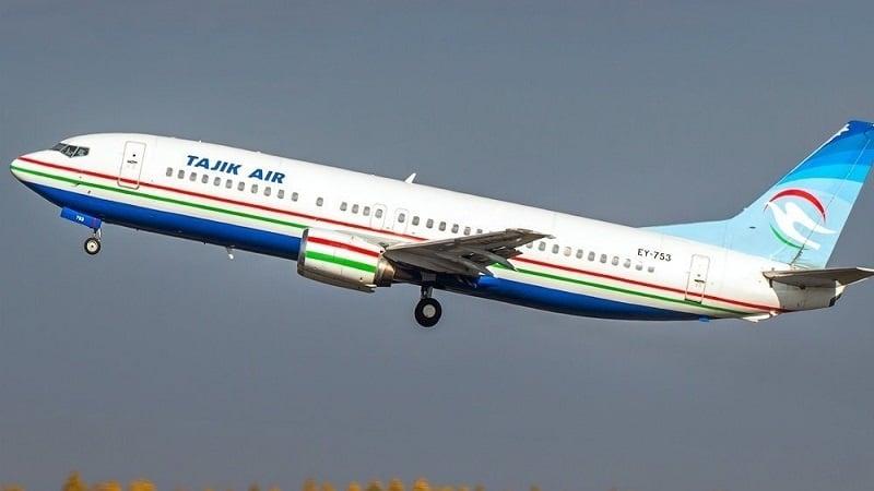 """Национальная авиакомпаний Таджикистана """"Tajik Air"""" (Таджик Эйр)"""