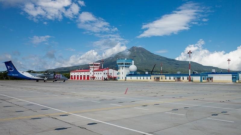 """Обзор аэропорта Южно-Курильска """"Менделеево"""""""